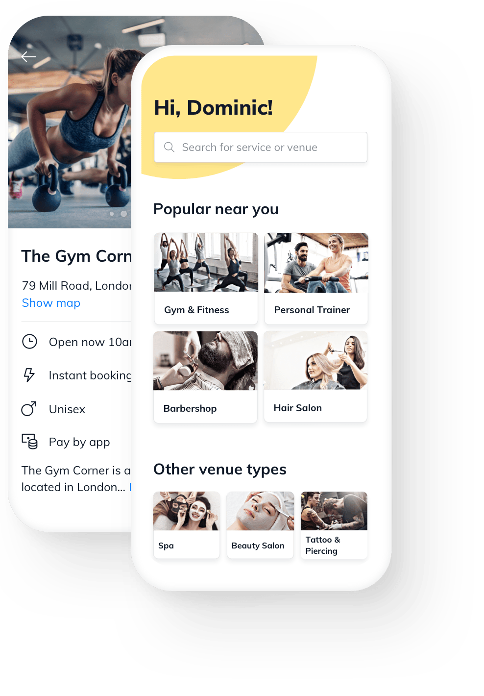 Gym & Fitness online booking free software
