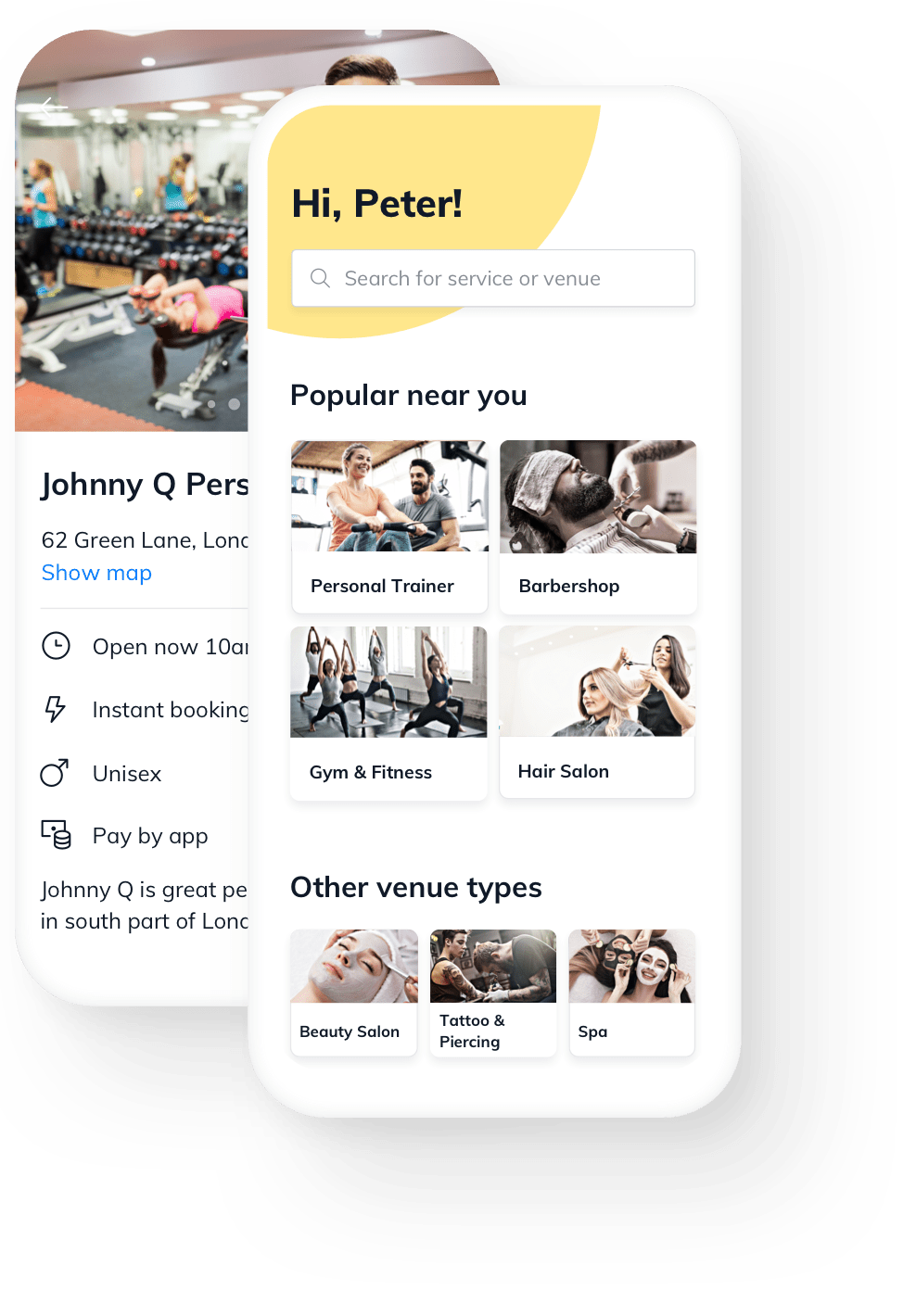 Personal Trainer online booking free software
